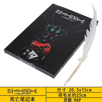 Death Note anime notebook+pen