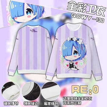 Re:Life in a different world from zero Rem hoodie