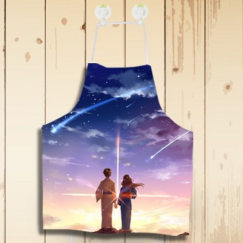 Your name anime waterproof apron