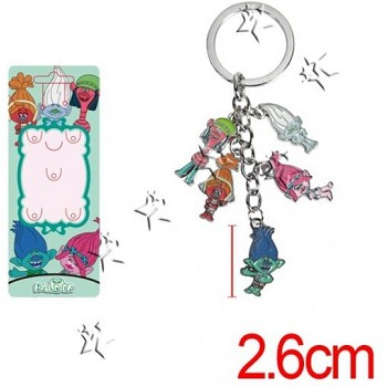 Trolls key chain