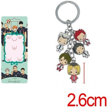 Haikyuu key chain
