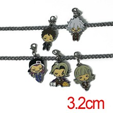 Dangan Ronpa key chains a set