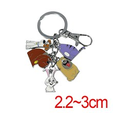 The Secret Life of Pets key chain