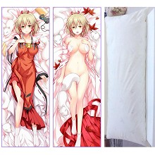 Inari, Konkon, Koi Iroha anime two-sided pillow