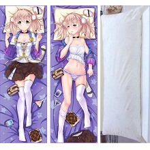 Atelier Escha Logy: Alchemists of the Dusk Sky two-sided pillow