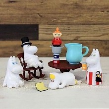 Moomin figures a set
