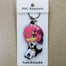 Re:Life in a different world from zero Rem two-sided key chain
