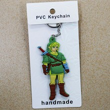 The Legend of Zelda two-sided key chain