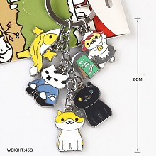 Neko Atsume anime key chain