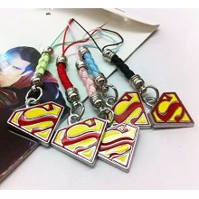 Super Man phone straps set(5pcs a set)