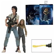 7inches NECA Alien 2 figures