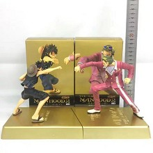 One Piece Film: Gold anime figures set(2pcs a set)