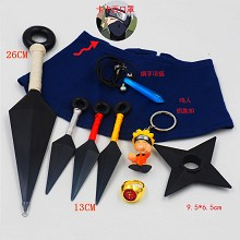 Naruto cosplay weapons a set(9pcs a set)