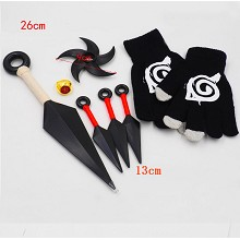 Naruto cosplay weapons a set(7pcs a set)