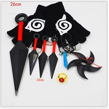 Naruto cosplay weapons a set(8pcs a set)
