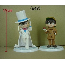 Detective conan anime figures set(2pcs a set)