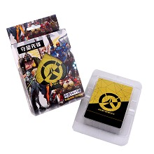 Overwatch poker playing card