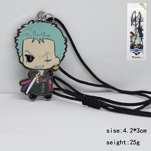 One Piece Zoro anime necklace