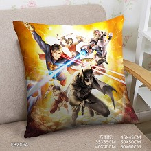 Justice League two-sided pillow
