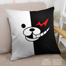 Dangan Ronpa anime two-sided pillow