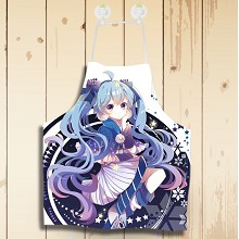 Hatsune Miku anime waterproof apron