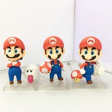 Super Mario figures set(3pcs a set) no box