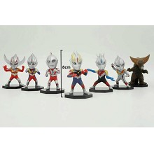 Ultraman figures set(7pcs a set)