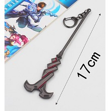 Hero Moba cos weapon key chain