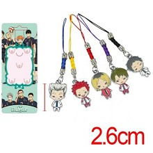 Haikyuu phone straps a set