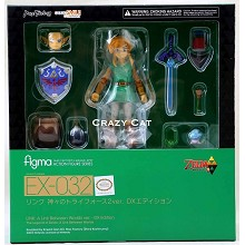 The Legend of Zelda link figure figma X-032#