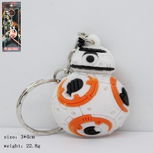 Star Wars BB8 anime key chain