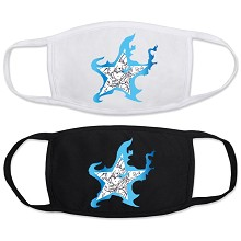 Black Rock Shooter anime masks set(2pcs a set)
