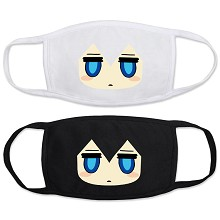 Blac Rock Shooter anime masks set(2pcs a set)