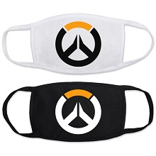 Overwatch anime masks set(2pcs a set)