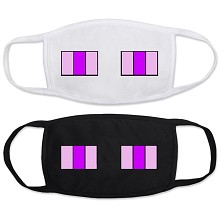Minecraft anime masks set(2pcs a set)