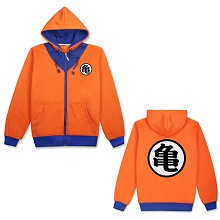 Dragon Ball anime thick hoodie