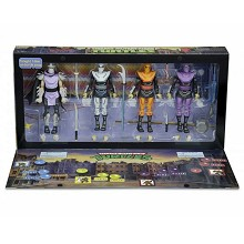 NECA Teenage Mutant Ninja Turtles figures a set