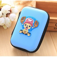 One Piece Chopper anime wallet coin purse