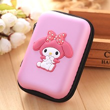 My Melody anime wallet coin purse