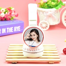 Star Angelababy headphone