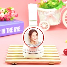 Star Zhao Liying headphone