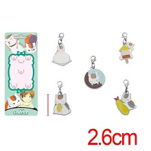 Natsume Yuujinchou anime key chains set(5pcs a set)