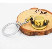One Piece Chopper hat key chain
