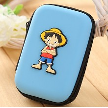 One Piece Luffy anime coin purse wallet