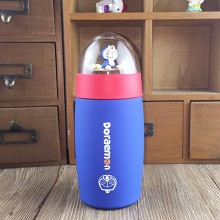 Doraemon anime kettle vacuum cup 450ML