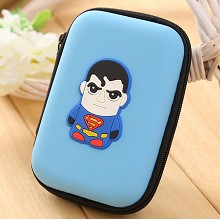 Super Man anime coin purse wallet