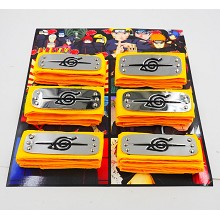 Naruto anime cos headbands set(6pcs a set)