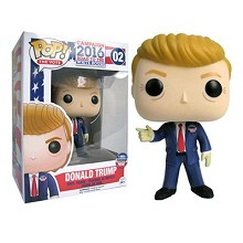 Funko POP 02 Trump figure