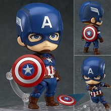 Captain America anime figure 618#