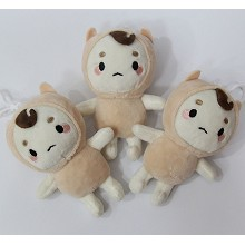 4.8inches Goblin plush dolls set(3pcs a set)